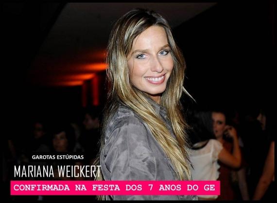 Mariana Weickert, modelo e apresentadora dos programas Vamos Combinar (GNT)  e A Liga (Band), disse  sim  ao convite de Camila Coutinho e é presença ... 70e9d7e94f