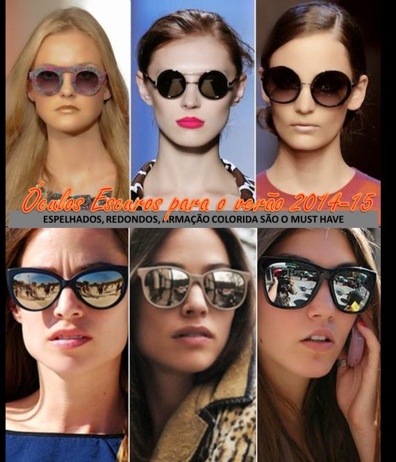 255d0d840e789 Indispensáveis no dia a dia e, especialmente nos dias quentes de verão, os  óculos de sol são o complemento fundamental no look de praia, de campo ou  até ...