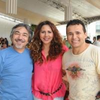 Santana, Cristina Amaral e Almir Rouche
