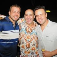 Armando Pugliesi, César Santos e Kiko Selva