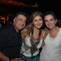 Sérgio Miranda e Suely Paes Mendonça com Cibele Estrela