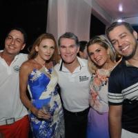 Hiroshi, Sabrina Barbosa, Paulinho Ferrer, Ju Santos e Armando Pugliesi